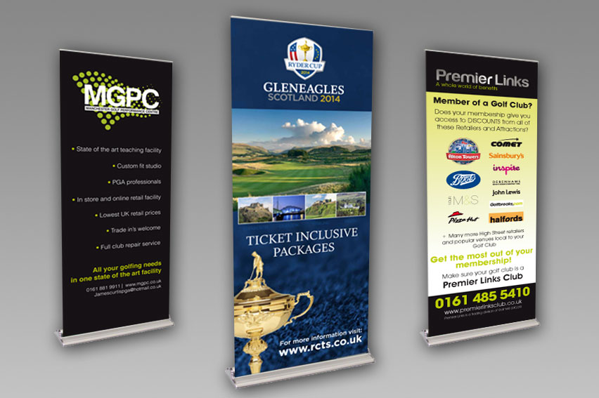 Roller Banners. Wide range of sizes and styles available