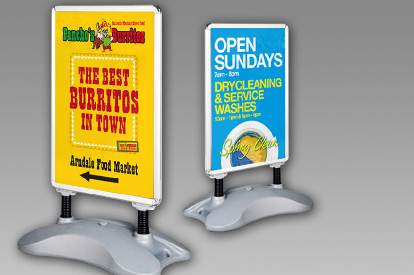 A Frame & Pavement Signs. Wide range available